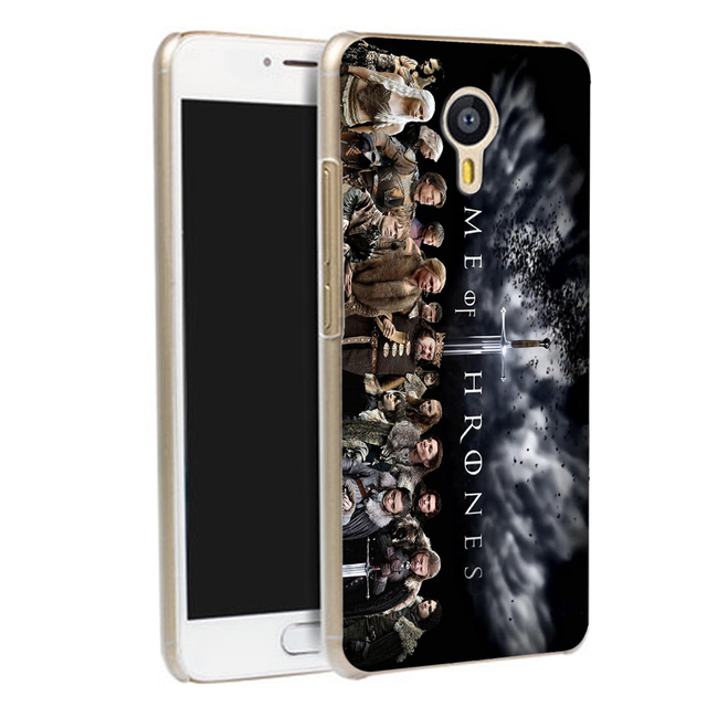 Game of Thrones Pattern Phone Case for Meizu M5S M3S M3 U10 U20 M5