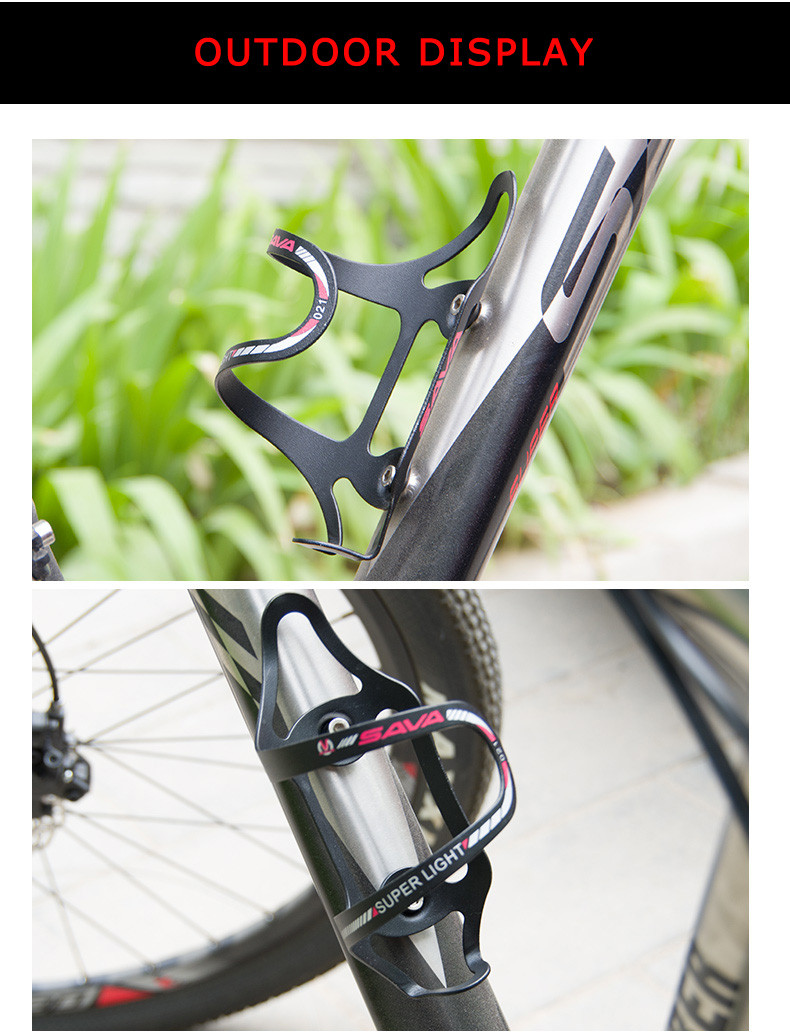 Adjustable Aluminum Alloy Water Bottle Holder For Bike Mountain Road Bicycle US