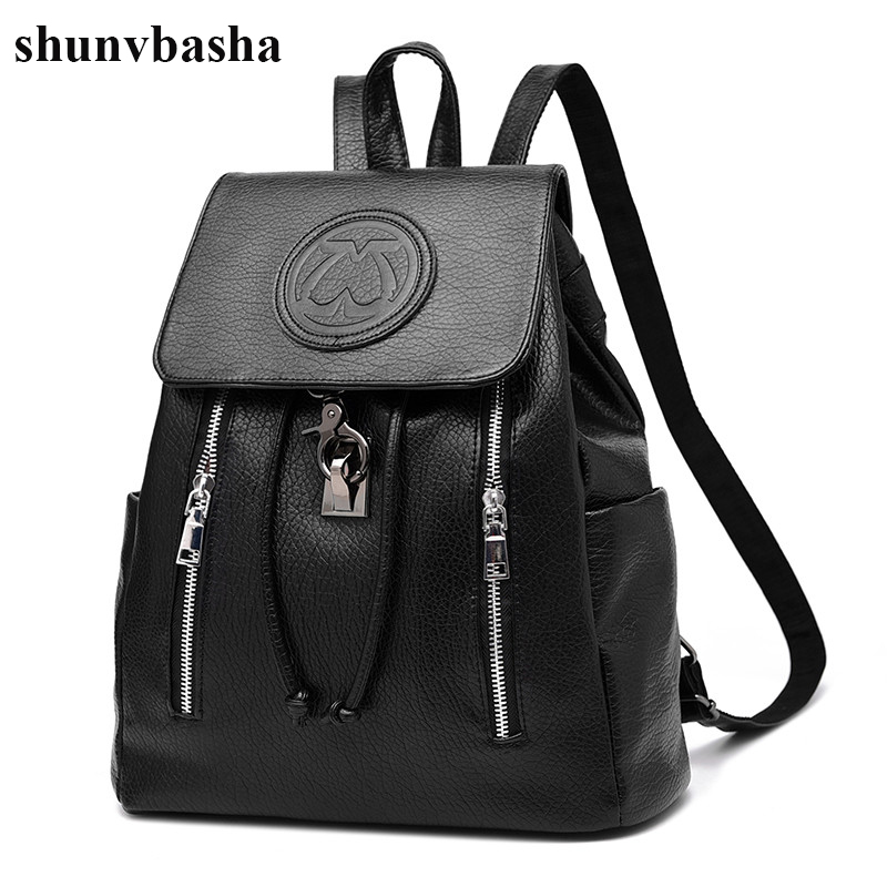 New Arrival Brand Leather Backpacks Women High Quality Fashion School Bags For Teenage Girls Casual Style Design Mochila Ladies
