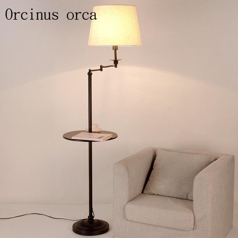 Lampe étude Qluvgsmzp Nordique Salon Lampadaire Chambre