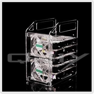 yj y6 f acrylic hard drive mount hard drive box 3 5 mobile hard rh aliexpress com hard drive shelf hard drive shelves