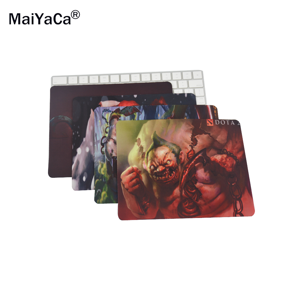 MaiYaCa Dota 2 Pudge Wallpapers Rectangle Silicon Durable Mouse Pad 18 22cm and 25 29cm
