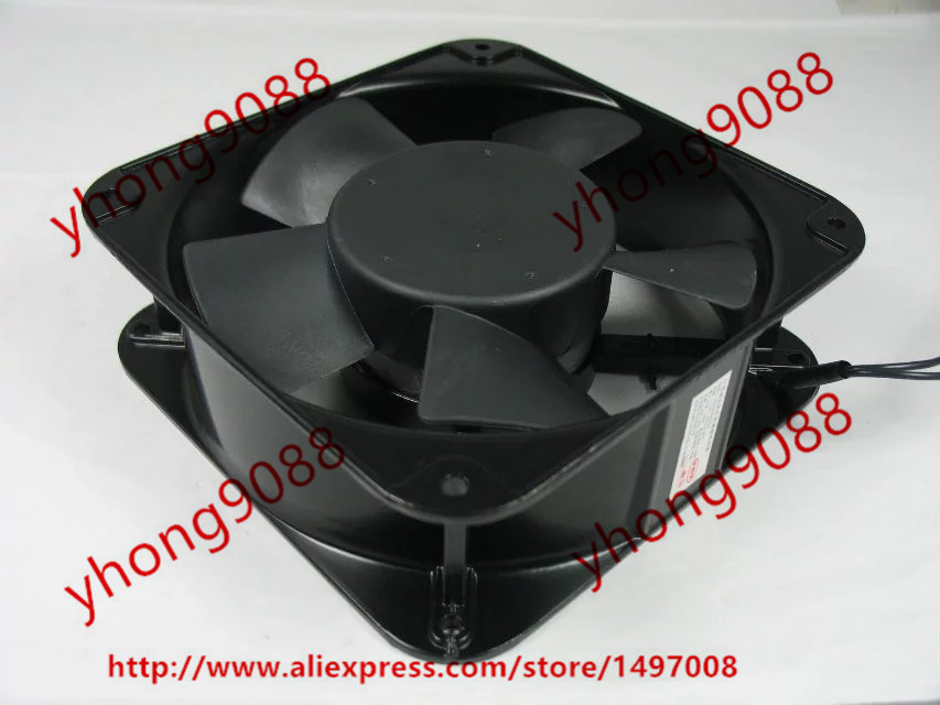 Free shipping for QUAN FENG QA18060HBL AC 220V 0.35A 2-wire 180x180x60mm Server Square Cooling Fan free shipping 370 6072 03 540 6706 01 server fan for sun netra440 n440 tested working