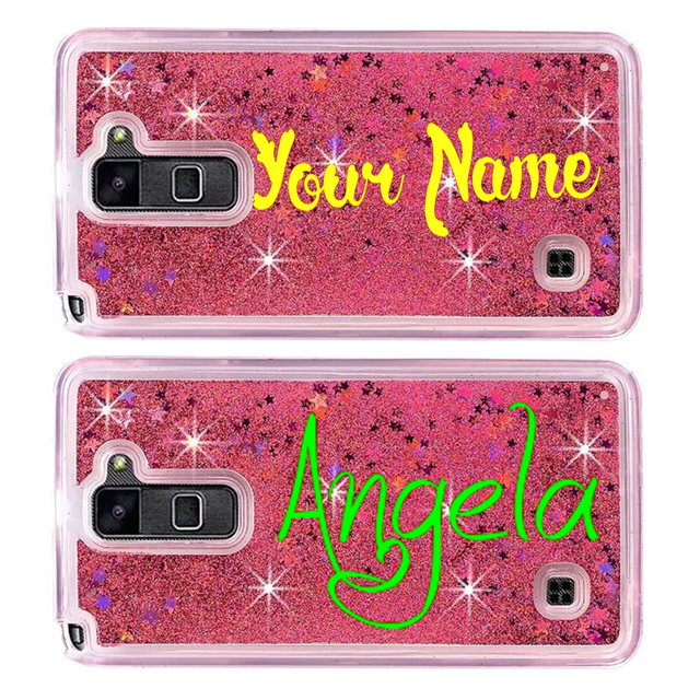 online retailer bb840 6ce69 US $13.0 |Custom liquid sand glitter name phone case for LG K4 K7 K8 2017  DIY personalize glitter name case for LG K4 K7 K8 2017 customize-in ...