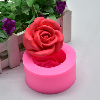 Christmas Rose Soap Molds Silicone Soap Making Molds Craft Molds Resin Mold 3D Rose Flowers Candle Mold rose