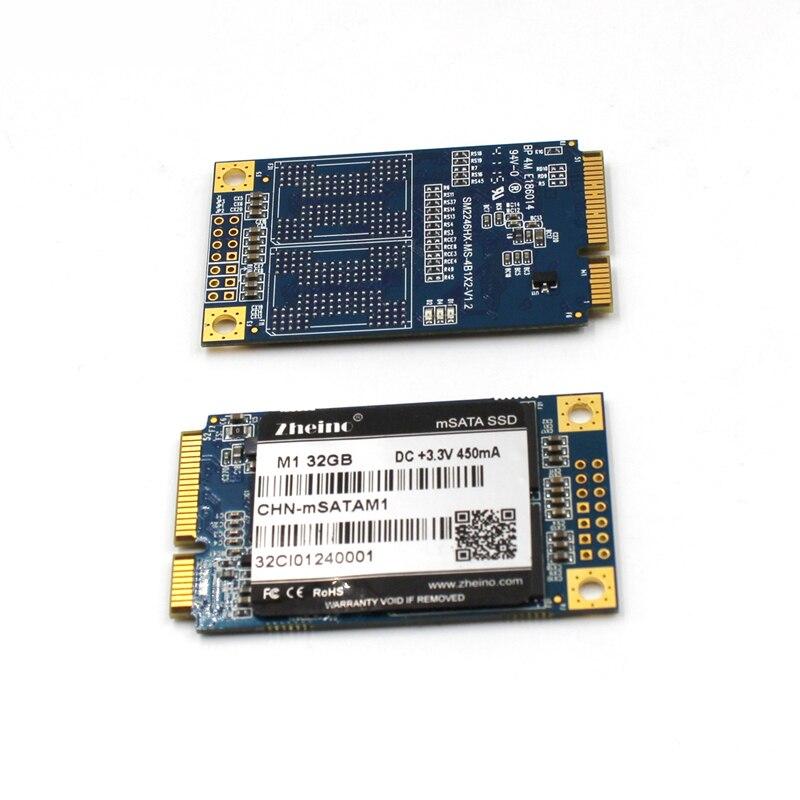 Zheino хорошее качество M1 mSATA 32 ГБ SSD SATA3 Internal Solid State Drive MLC флэш-памяти для Таблица портативных ПК Тетрадь ...