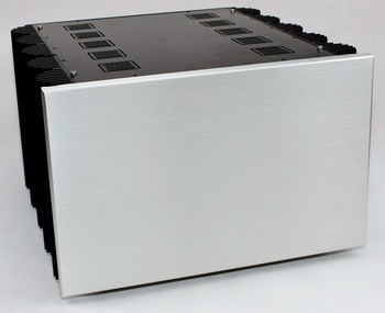 WA80 all-aluminum power amplifier housing pure rear-grade luxury chassis 425 * 407 * 260MM DIY box