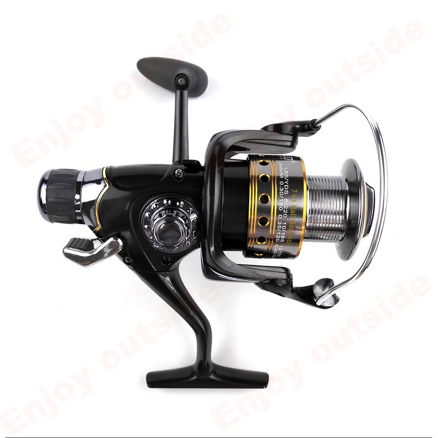 New arrival Saber Dual Brake Carp Reel with Gear Ratio 5.5:1 Spinning Fishing Reel Bait Runner System Reel For Carp Fishing Lure