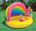 2016 Новый стиль детский надувной бассейн тень младенческой пен-песочница пул ребенка детский бассейн