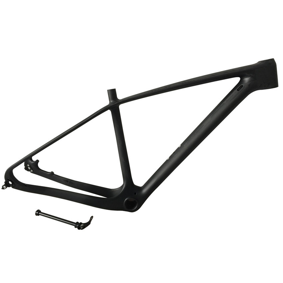 Smileteam New 27.5er Full Carbon Mountain Bike Frame 650B Carbon MTB Bike Frame Mountain Bicycle 27.5er 142*12 or 135*9mm Frame smileteam 29er 27 5er carbon mtb frame 650b t1000 full carbon mountain bike frame 142 12 thru axle or 135 9mm qr bicycle frame