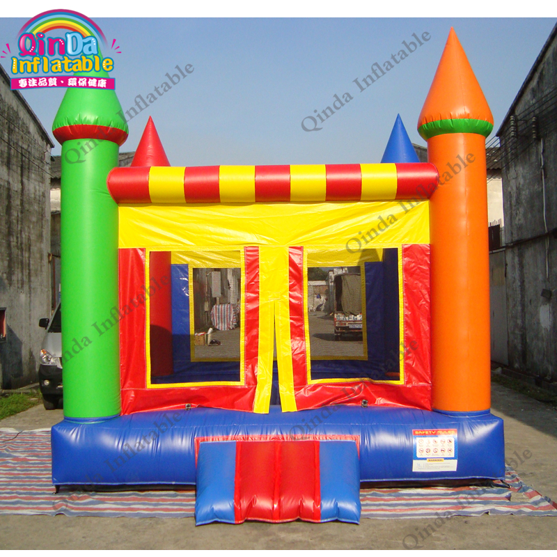 Wholesale Price Inflatable Trampoline Air Bounce House With Kids Jumper Inflatable Bouncing Castle For Rental