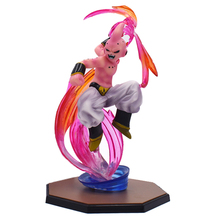 18cm Majin Buu Anime Dragon Ball Z Boo PVC Action Figure Collection Model Kids Toys Dolls Free Shipping dragon ball z action figure majin buu with aura figure zero pvc figure toy anime dragon ball super buu collection model diy109