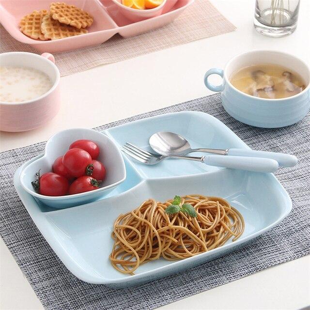 christmas halloween gift creative ceramic dish tableware set fast food breakfast fruit white bone china plate