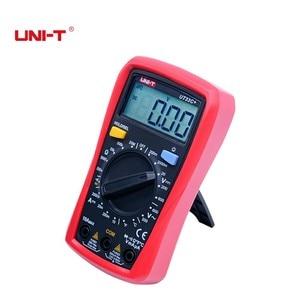 Image 2 - Palm boyut dijital multimetreler UNI T UT33C + profesyonel elektrik el Tester LCR metre ampermetre Multitester 40 1000C