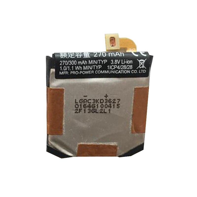 270mAh Bateria de Relógio Inteligente Para moto 360 2nd 42mm 46mm FW3S SNN5971A baterias