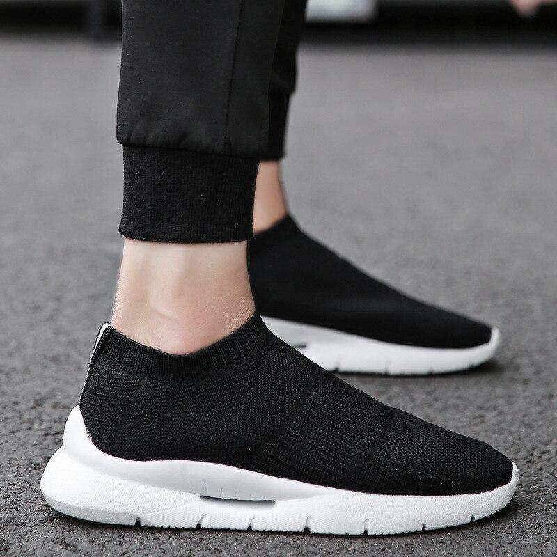 OLOME 2019 chaussures hommes décontractées été Sneaker respirant chaussures en maille décontractées tendance coréenne chaussures