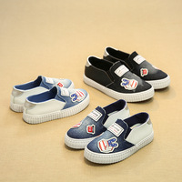2017 New Jean Canvas Cool Toddler First Walkers High Quality Fashion Baby Girls Boys Shoes High