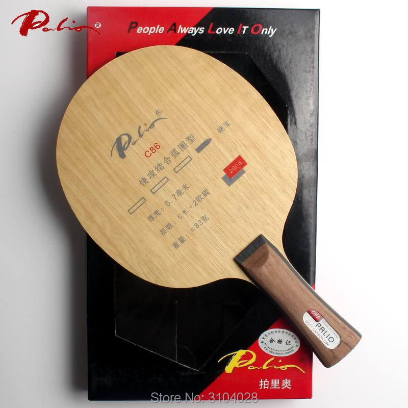 Palio Official C-86 C86 Table Tennis Balde Carbon Balde Loop For Fast Attack Original Packing Made In China For Racket Sports