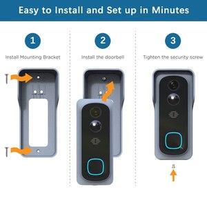 Image 5 - WiFi الذكية كاميرا فيديو بالجرس المنزل شاشة أمن للرؤية الليلية فيديو إنترفون SmartLife APP التحكم عبر iOS الروبوت الهاتف