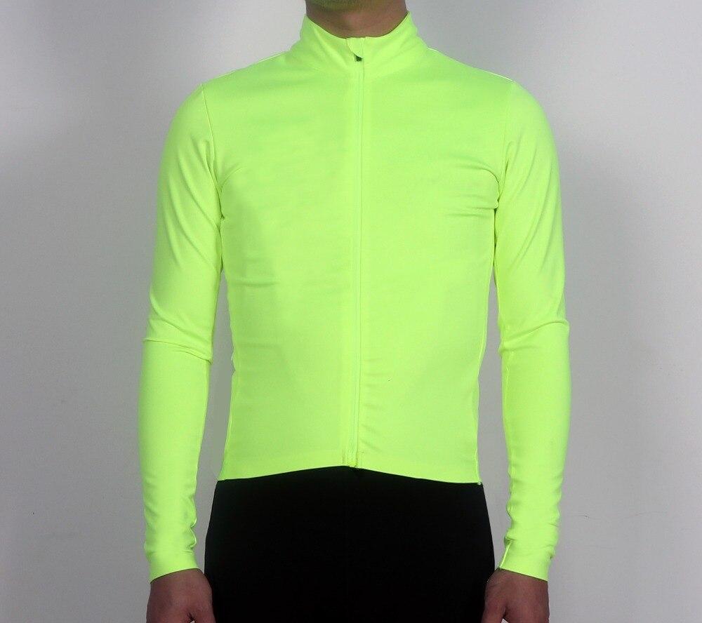 SPEXCEL Date Fluorescent vert 3 couche tissu pro équipe Coupe-Vent et protection contre la pluie Vélo Jersey à manches longues vélo veste
