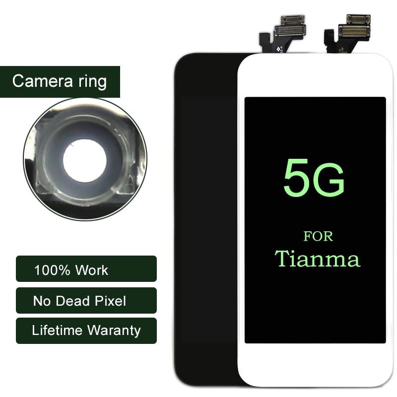 Pantalla Premium ESR 10 piezas para iphone 5 LCD para Tianma con digitalizador de pantalla táctil para iphone pantalla LCD de teléfono móvil