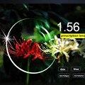 Очки Линзы Индекс 1.56 Объектив близорукость пресбиопии рецепту оптические линзы для глаз прозрачные Линзы CR39 компьютерные Очки lentes