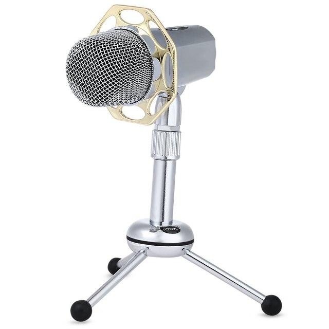 Yanmai Y10B Рабочего Проводная Супер-cardiode Конденсаторный Микрофон Дизайн для Общения через QQ MSN Skype и Пения Через Интернет P2P