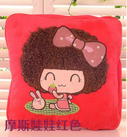 2014 new cushion pillow cushion blanket two uses in office in home in car