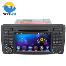 16 GB Flash, 4 Core, 1024X600 Android 5.1 Car DVD Player for Mercedes-Benz R Class W251 with GPS Navigation System Bluetooth