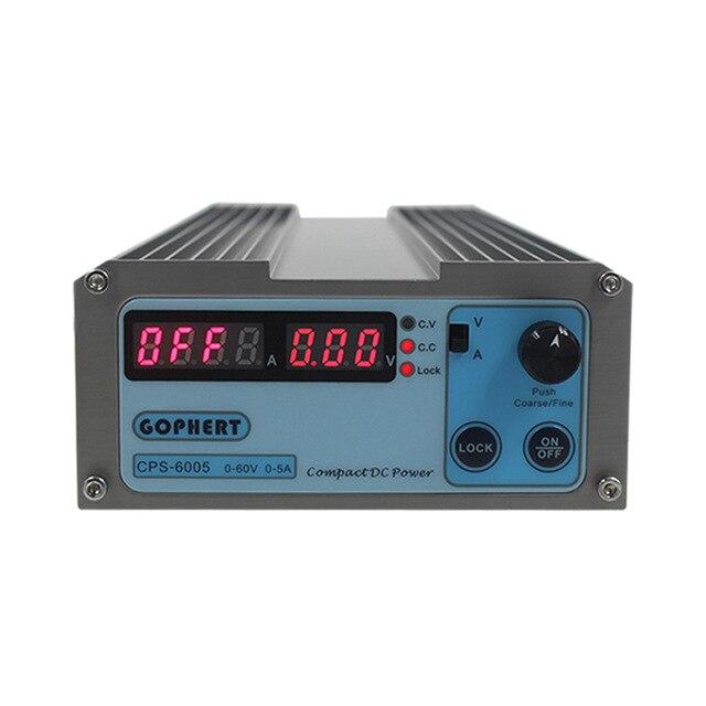 CPS-6005 60V 5A 110V-220V compact adjustable Switch-Mode Digital Adjustable switching DC Power Supply Power SuppliesCPS-6005 60V 5A 110V-220V compact adjustable Switch-Mode Digital Adjustable switching DC Power Supply Power Supplies