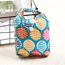 Oxford Foldable Shopping Bag Maple leaves Eco Handy Reusable Tote Pouch Recycle Storage Folding pocket