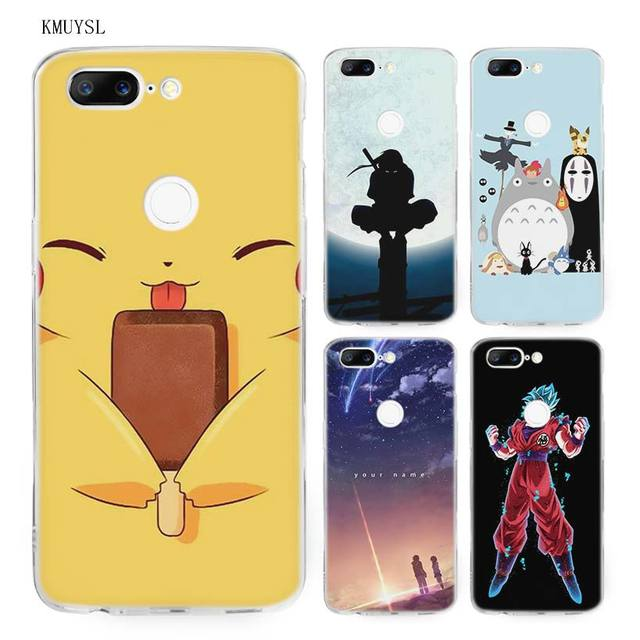 watch 4f30d 34cff US $1.97 34% OFF|KMUYSL Japanese films Anime Cartoon Comic art TPU Ultra  Thin Transparent Soft Case Cover for One Plus Oneplus 5T 6-in Fitted Cases  ...