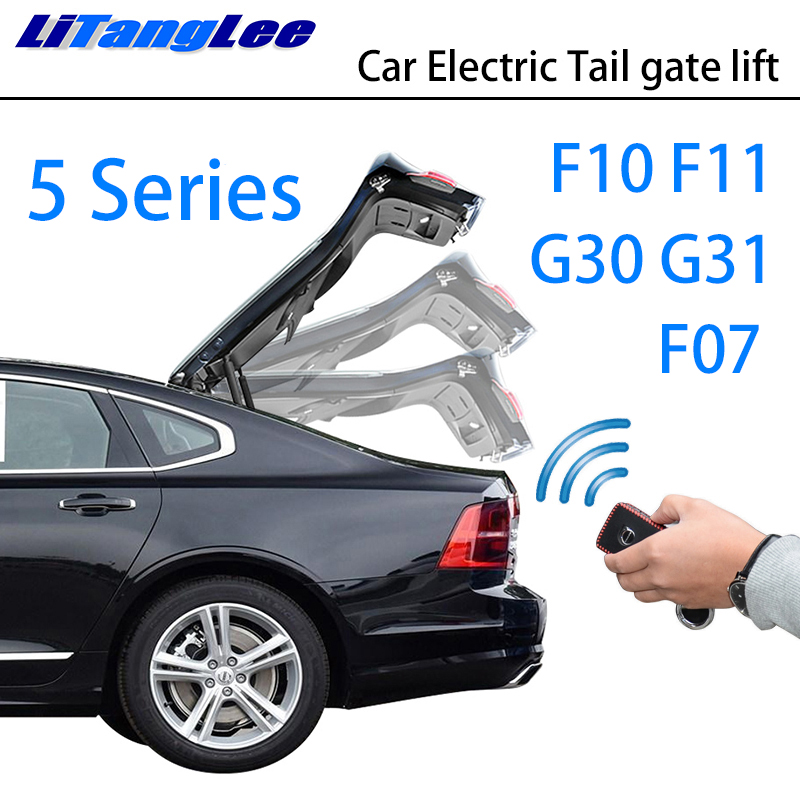 LiTangLee Car Electric Tail Gate Lift Trunk Rear Door Assist System For BMW 5 Series F10 F11 F07 G30 G31 2010~2019