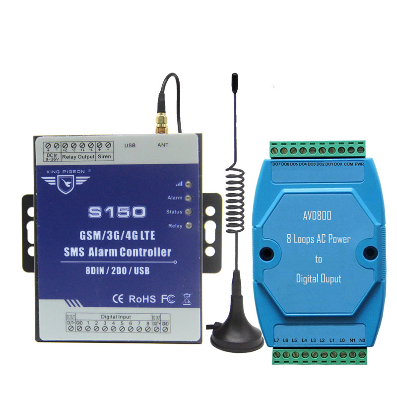 Security & Protection Lower Price with Ac Power Voltage Status Monitoring Alarm Remote Controller Sms Rtu For Base Transceiver Station Diesel Generator Rooms Farms A Great Variety Of Models Alarm System Kits