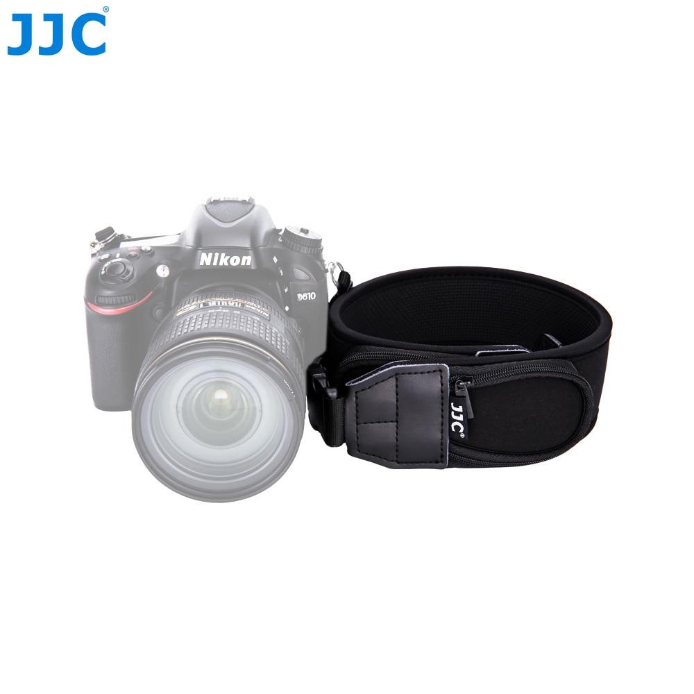 JJC Quick-Release Neck Strap with Pouch DSLR Wide Shoulder Straps Camera Neck Belt For Canon Nikon Sony Pentax