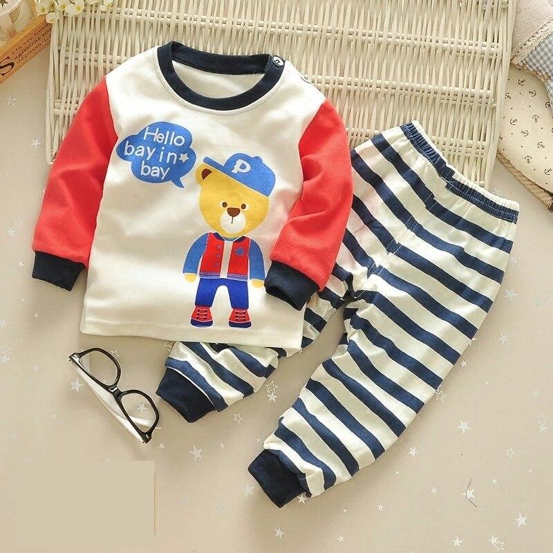 2 шт. Милые Носки с рисунком медведя из мультика детская одежда комплект хлопок Демисезонный Одежда для маленьких мальчиков и девочек детск...