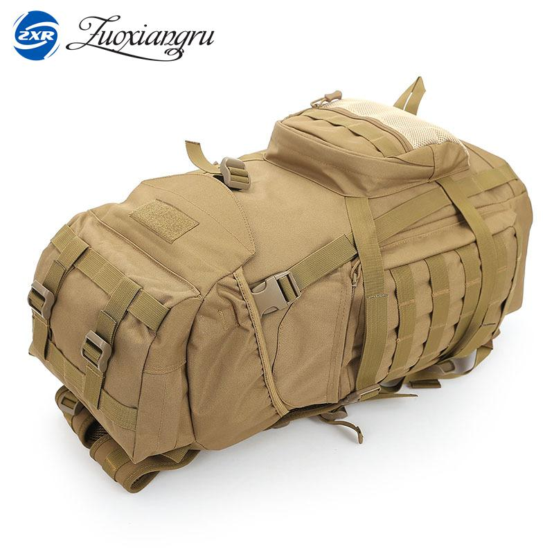 Zuoxiangru High Quality 60L Men/Women Backpack Travel Rucksack Heavy Duty Bag Movement Mountaineering BackPack Molle Backpacks