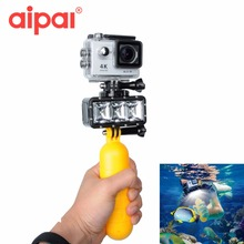 Action Camera Accessories Underwater Diving Waterproof LED Flash Fill Light Buoyancy Set For Gopro Hero 5 4 sjcam Eken Xiaomi yi