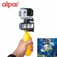 Действие Камера Интимные аксессуары подводный Водонепроницаемый светодиодной вспышкой заполняющий свет плавучести набор для GoPro Hero 5 4 SJCAM Экен Xiaomi Yi