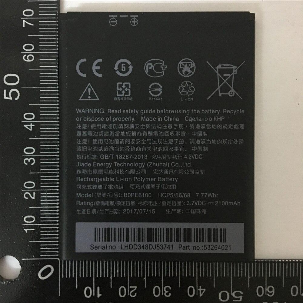 2100 mAh Ersatz Batterie BOPE6100 Für HTC Desire 620 620G D620 D620h D620u Desire 820 Mini D820mu A50M Wiederaufladbare batterie