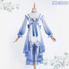 [Stock] Anime Vocaloid Sleep Autumn series Mo Qingxuan Lolita Dress Daily Full set Cosplay costume S-L New 2017 free shipping