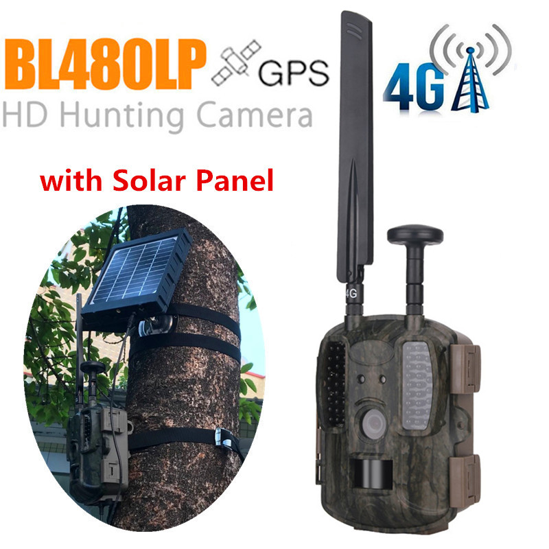 Solar Panel Kit 3000mAh 3W for Balever Hunting cameras Waterproof Rechargable Li battery-in Hunting Cameras from Sports & Entertainment