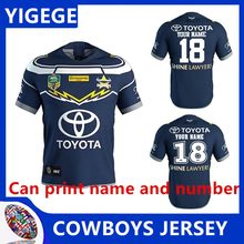 YIGEGE 2019 NRL RUGBY JERSEY NORTH QUEENSLAND COWBOYS 2018 MEN S HOME  JERSEY North Queensland Cowboys NRL 2017 Rugby Jersey-in Rugby Jerseys from  Sports ... 4eb9a9595