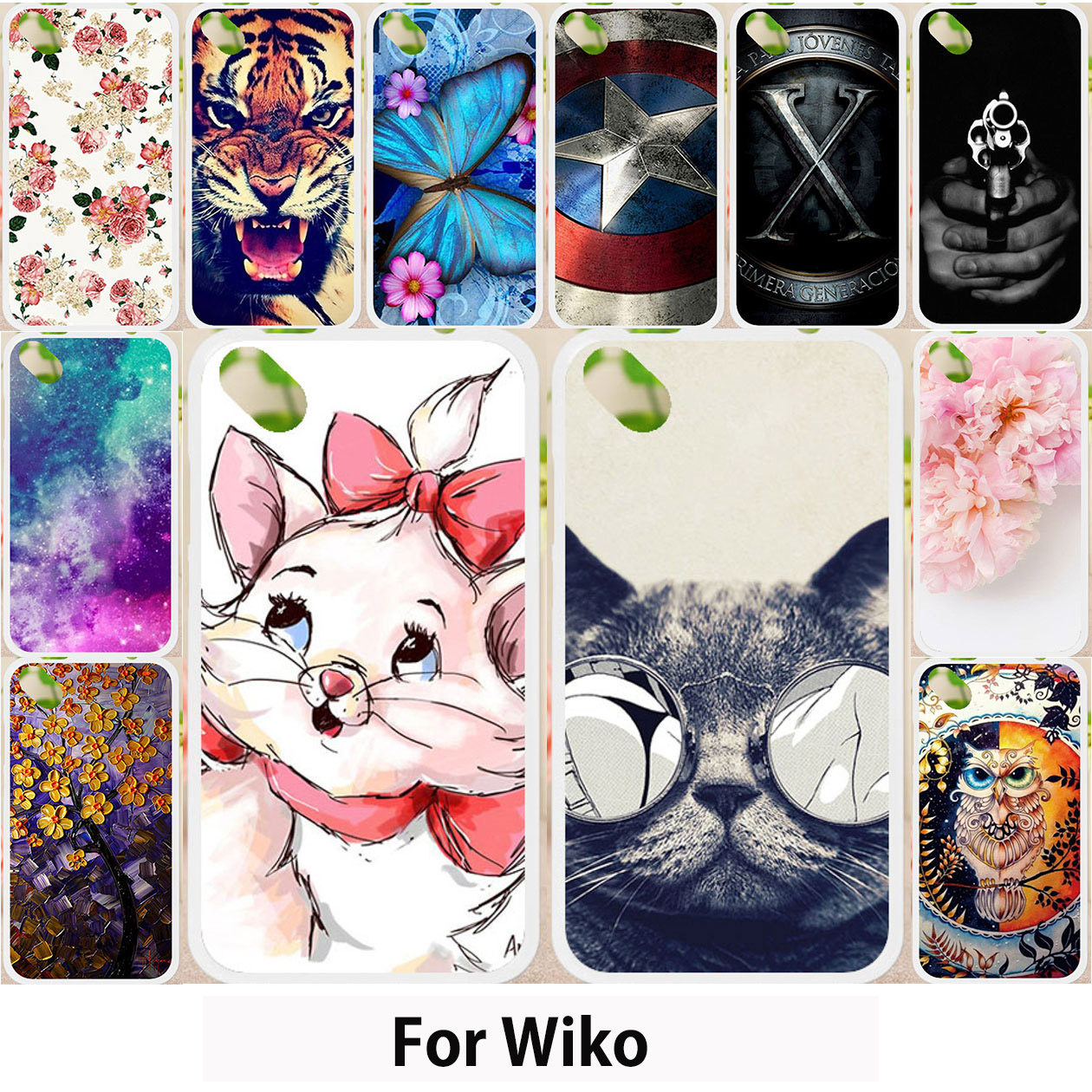 Walcox Cases For Wiko Sunny 2 Plus MAX Case Wiko Lenny 3 4 MAX Plus Jerry 2 Harry Freddy Kenny Rainbow Jam 3G Ridge 4G S-Kool