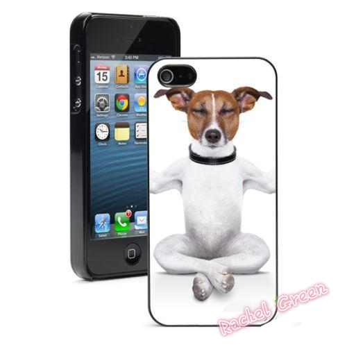 Jack Russel Dog Yoga Pose  Phone Case Cover For iPhone SE 4 4S 5S 5 5C 6 6S Plus 7 7Plus Samsung Galaxy S3 S4 S5 MINI S6 S7