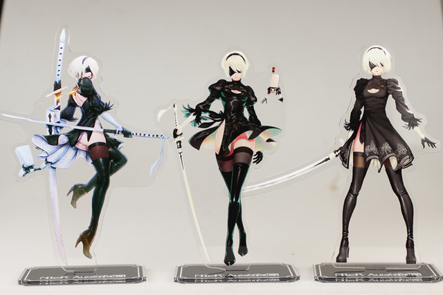 Frame Arms Girl Wallpaper Game Nier Automata Yorha No 2 Type B 2b Acrylic Model