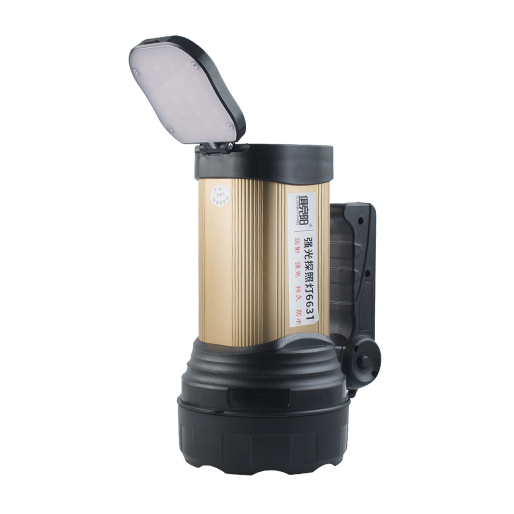 Strong light long-range LED searchlight 30W high-power multi-function flashlight outdoor riding camping home searchlight