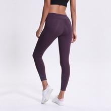 Women capris sports gym crop sexy tummy control reflective running leggings super quality 4 way stretch No-see through fabric