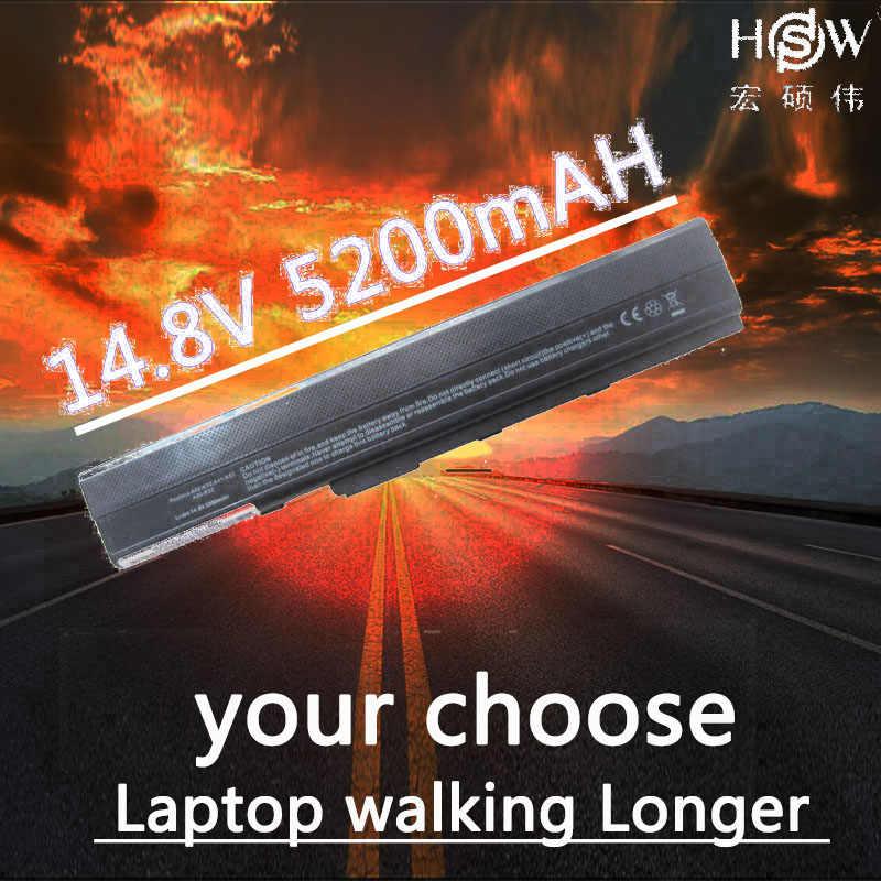 HSW Аккумулятор для ноутбука ASUS Pro51 Pro67 Pro8C X42 X52 X5I X67 X8C A32 K42 A31 K52 A41 A52 A62 B53 F85 F86 - 11.11_Double