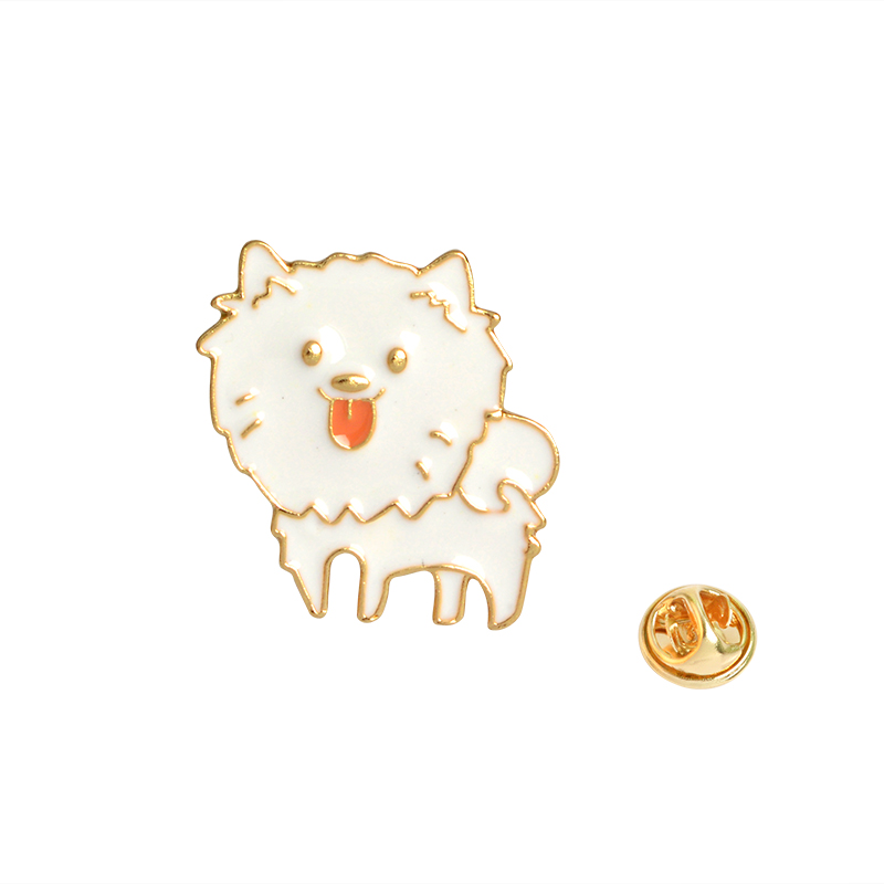 Brooches Jewelry Sets & More White Bone Pin I Love My Crazy Dog Grandog Agility Dog Enamel Icon Brooch Jacket Bag Sweater Pin Button Badge Animal Pet Jewelry